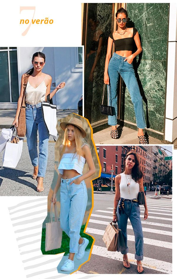 it girls - verao - mom jeans - looks - street style