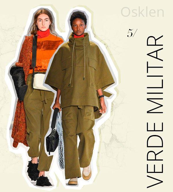 osklen - spfw - trend - 2018 - verde militar