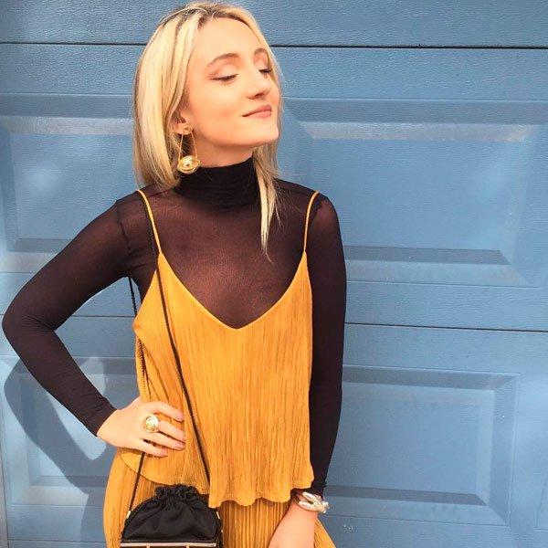 It Girl - vestido-amarelo-turtleneck-segunda-pele - vestido - outono - Street Style
