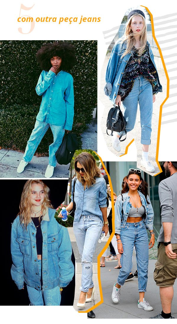 it girl - mom jeans - camisa jeans - look - street style