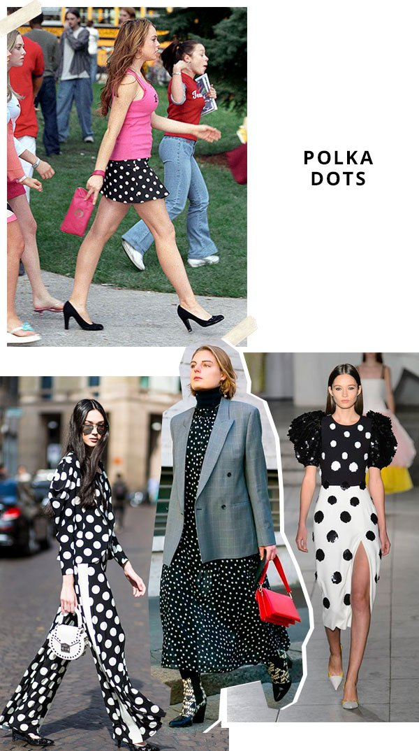 polka - dots - tendencia - mean girls - looks