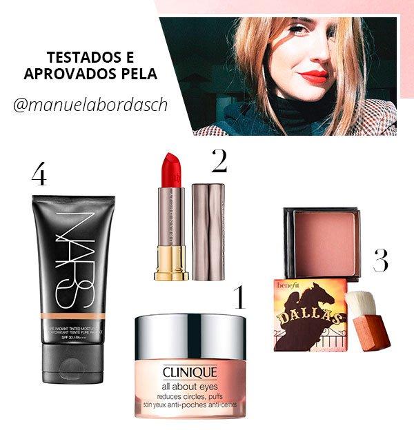 Manu Bordasch - produtos - beleza - verão - steal the look