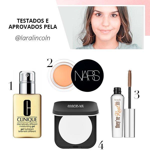 lara lincoln - produtos - beleza - verão - steal the look