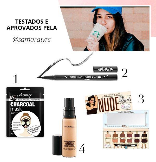 samara tavares - produtos - beleza - verão - steal the look