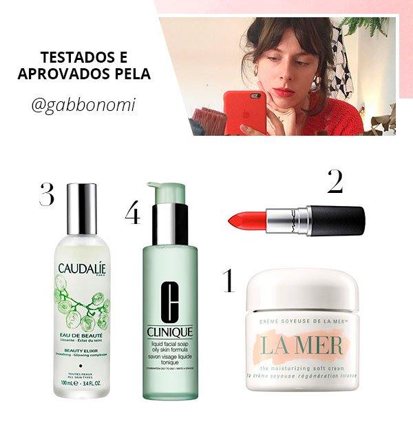 Gabriela bonomi - produtos - sephora - verão - steal the look