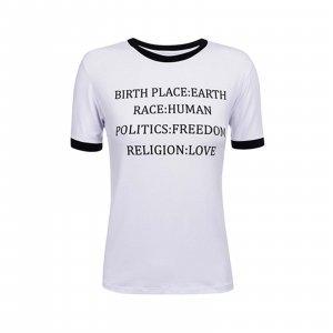 T-Shirt Belief Tamanho: G - Cor: Branco