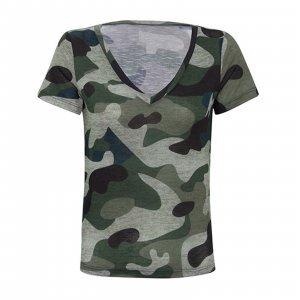 T-Shirt Army Tamanho: P - Cor: Verde