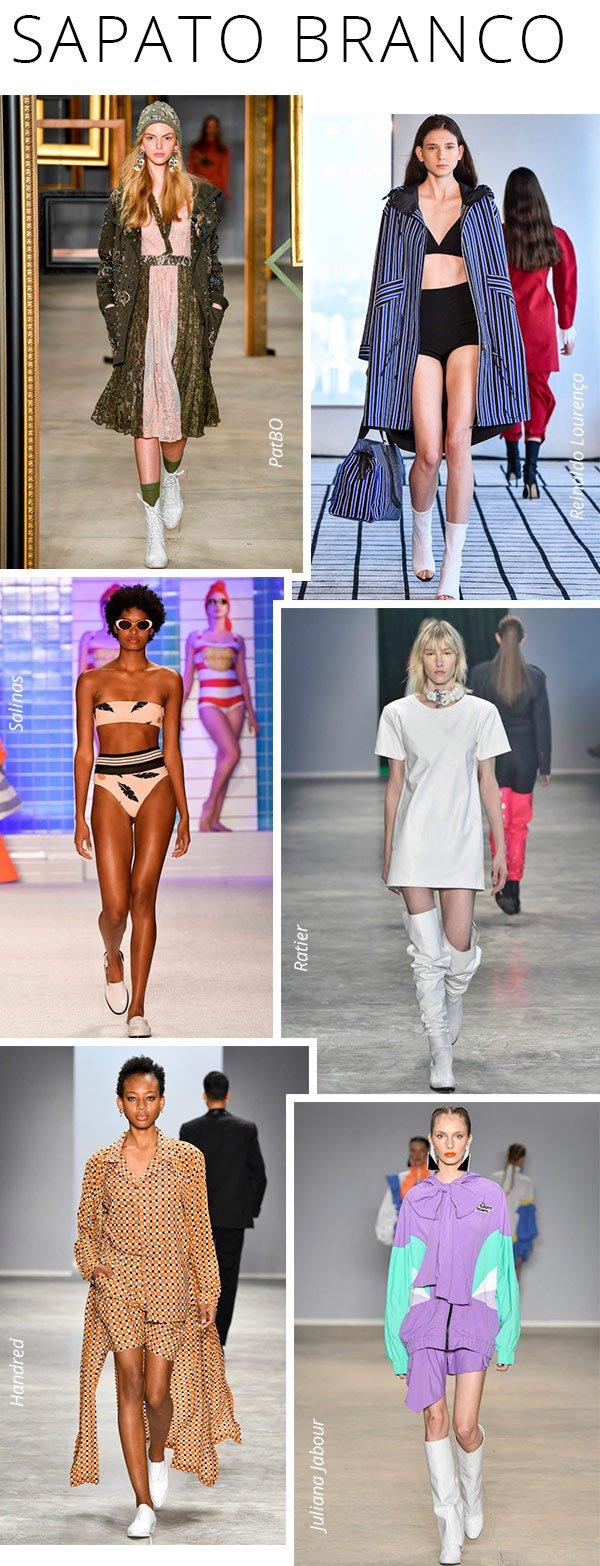 spfw - sapato - branco - look - trend