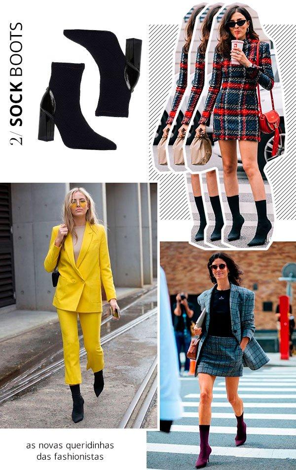 it girls - sock boots - bota - verão e inverno - street style