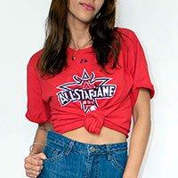 T-Shirt Vintage All Star Tamanho: M - Cor: Vermelho