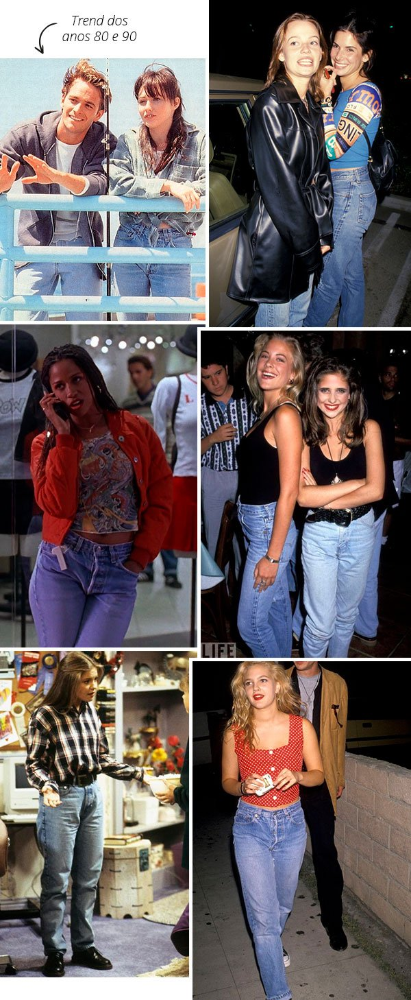 it girls - anos 90 - mom jeans - trend - now