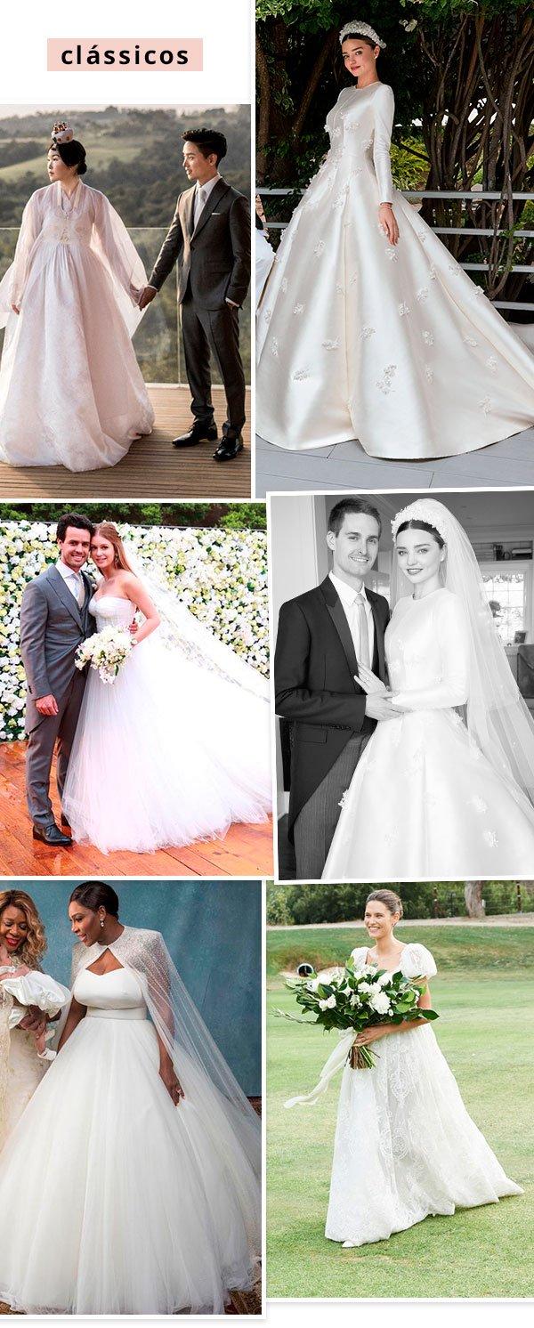 famosas - vestidos de noiva - casamento - verão e inverno - casamento