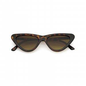 Óculos Cat Eye 77 Tartaruga Tamanho: U Cor: Marrom