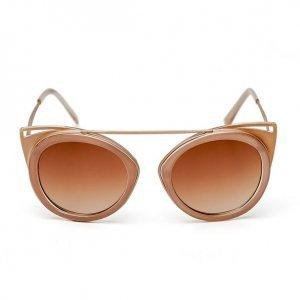 Óculos Feminino Gatinho Com Ponte Nude