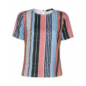 Camiseta Manga Curta De Crepe