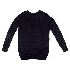 Blusão Black Em Tricô Dzarm