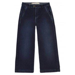 Calça Jeans Feminina Na Modelagem Pantacourt