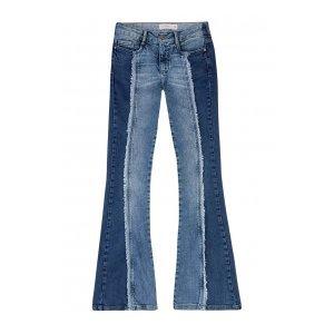 Calça Jeans Flare Na Base Veneza