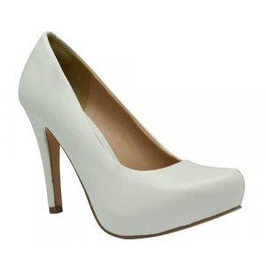 Sapato Tanara Meia Pata Branco