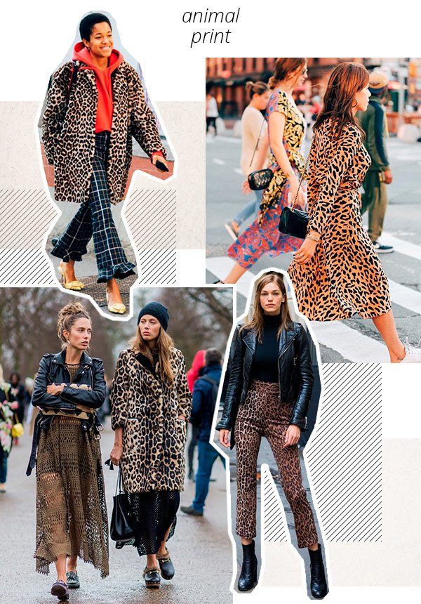 animal print - looks - como usar - trend - estacao