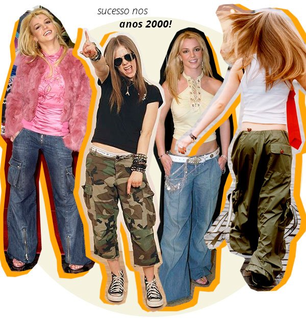 anos - 2000 - britney - avril - looks