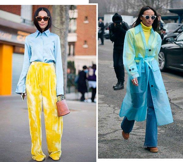 azul - amarelo - looks - trend - como usar