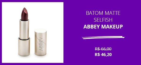 batom - sale - promocao - abbey - make