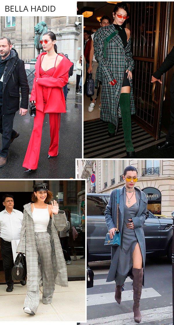 Bella Hadid - overcoat - peca - trend - comprar
