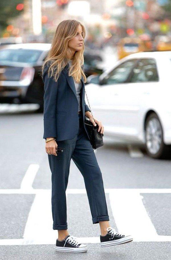 it girl - calca-alfaiataria-blazer-cinza-all-star - all star - inverno - street style