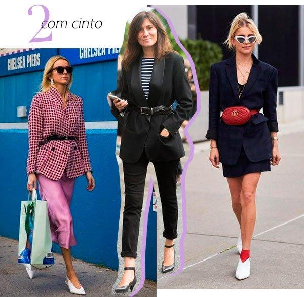 blazer - com cinto - como usar - trend - casaco