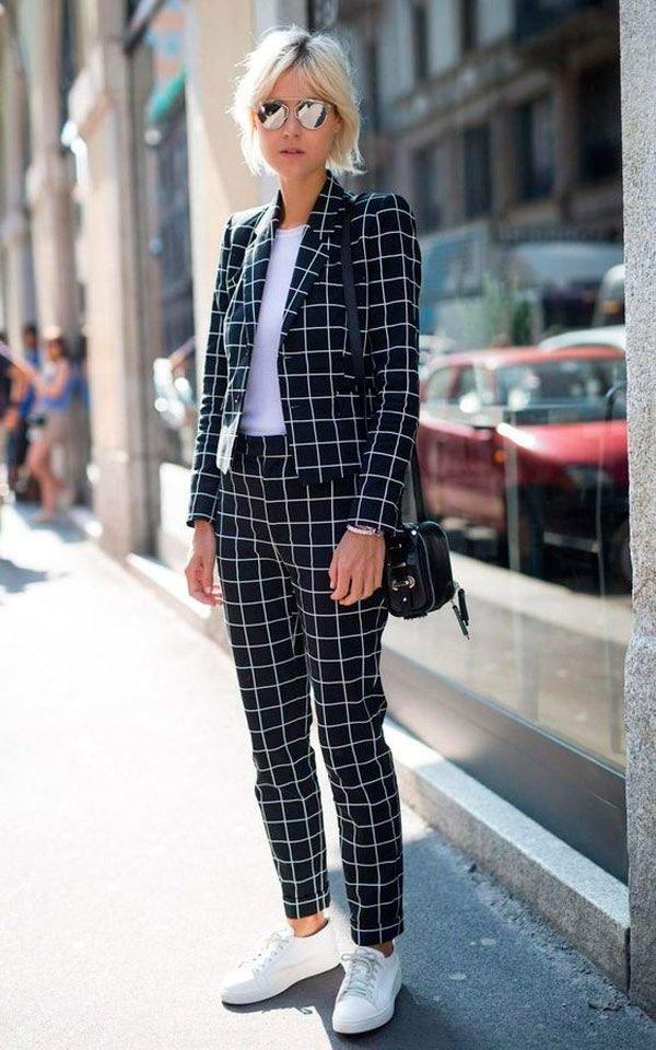 it girl - conjunto-xadrez-tenis-branco - xadrez - meia estação - street style