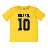Blusa Feminina Com Estampa Para Torcer Pelo Brasil