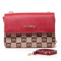 Bolsa Transversal Mini Bag Com Monograma