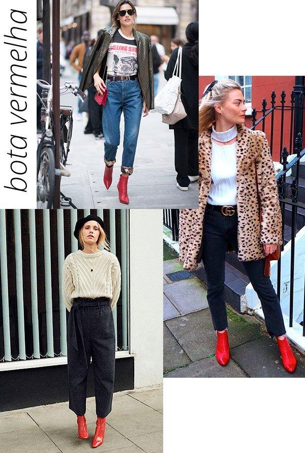 bota - vermelha - trend - verao - loo