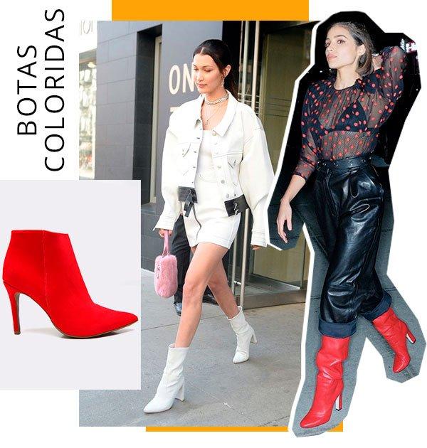 botas - coloridas - como usar - bebecê - looks