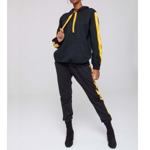 Conjunto Stripes Yellow Tamanho: M - Cor: Amarelo
