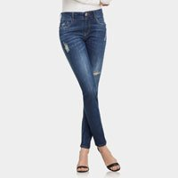Calça Skinny Belize Duo Core Jeans