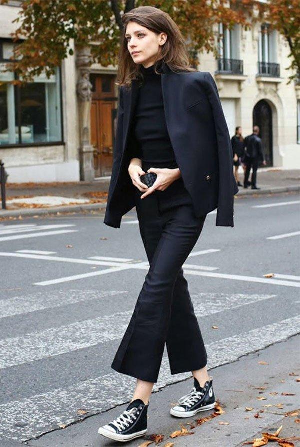 it girl - calca-preta-all-star-blazer - casaco - meia estação - street style