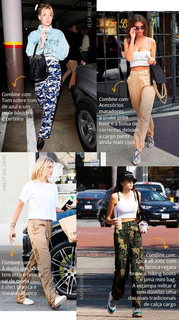 cargo pants - celebs - street style - looks - 2018