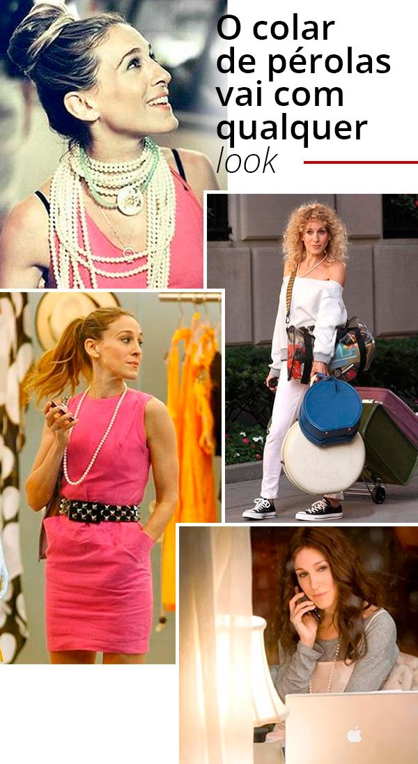 carrie bradshaw - looks - serie - personagem - sex and the city