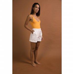 Short Elástico Branco Tamanho: P - Cor: Branco