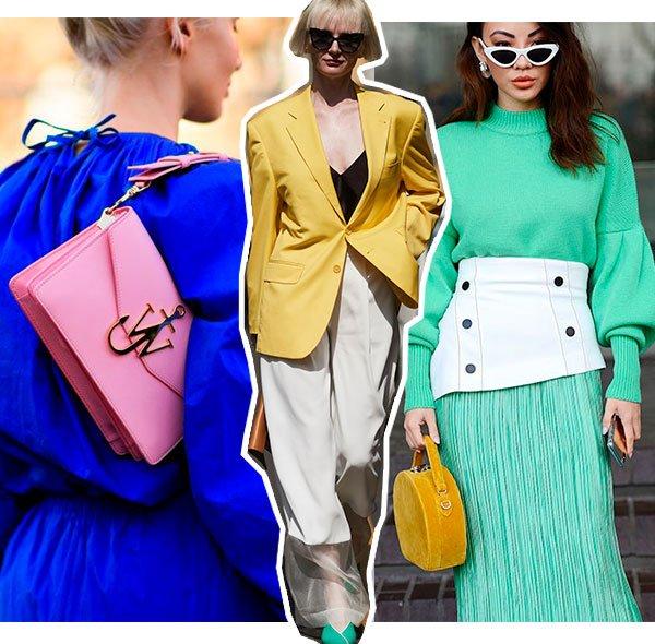 cores - looks - mix - como usar - trend