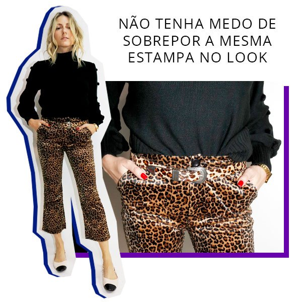look - karina - calca - estampa - look