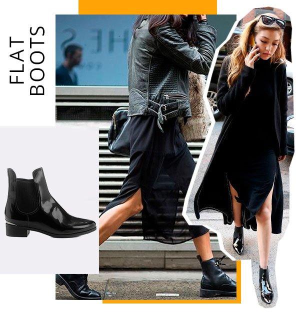 flat boots - looks - bebecê - como usar - bota