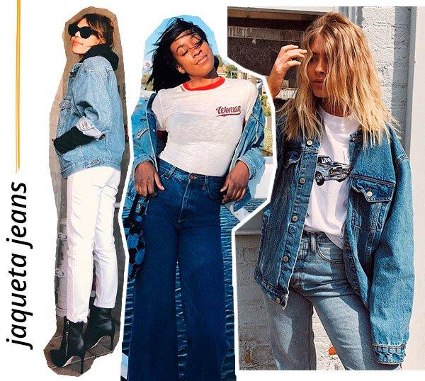 jaqueta - jeans - looks - como usar - inverno