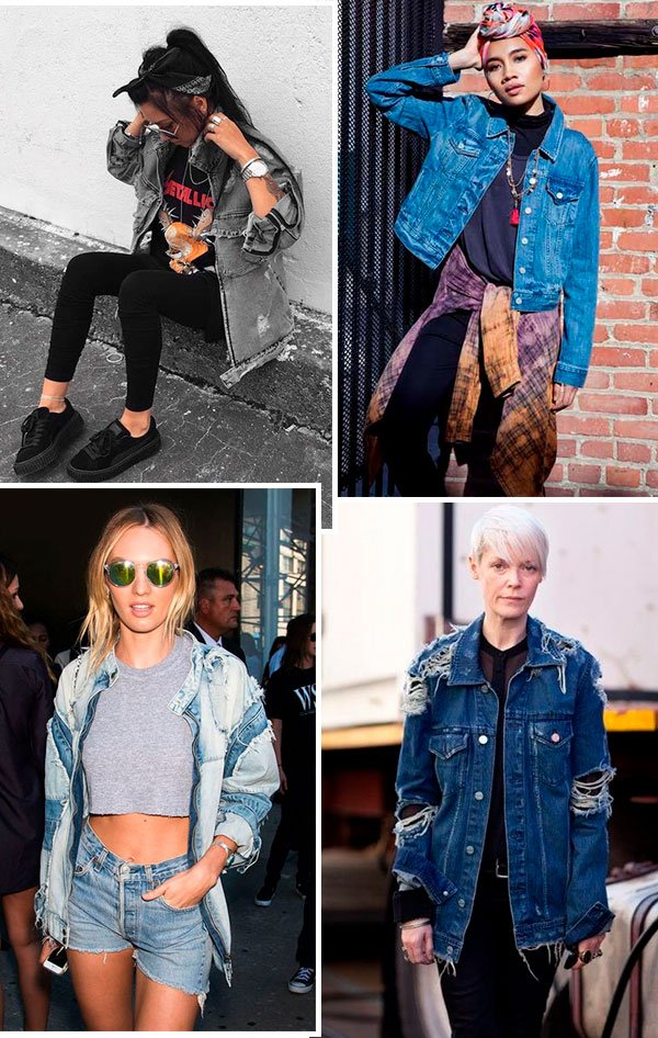 estilo - looks - jaqueta - jeans - como usar