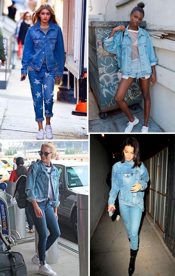 jaqueta - jeans - looks - como usar - jaqueta