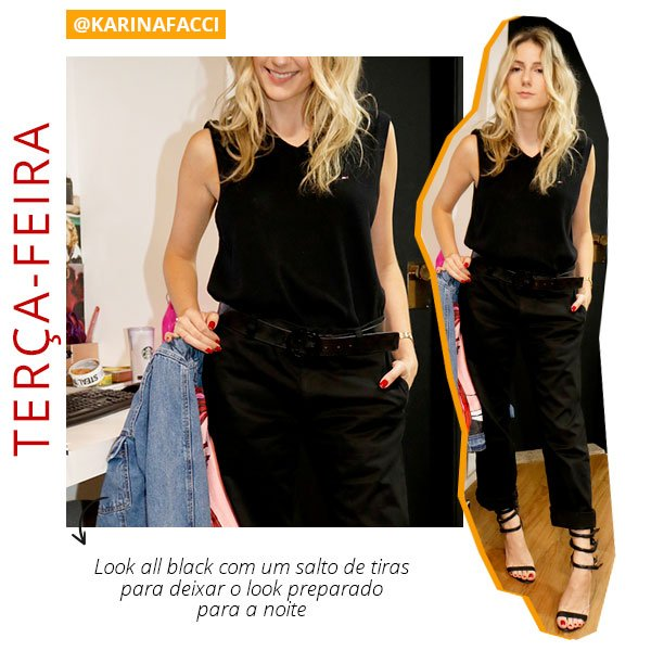 Karina facci - looks - boy - namorado - roupas