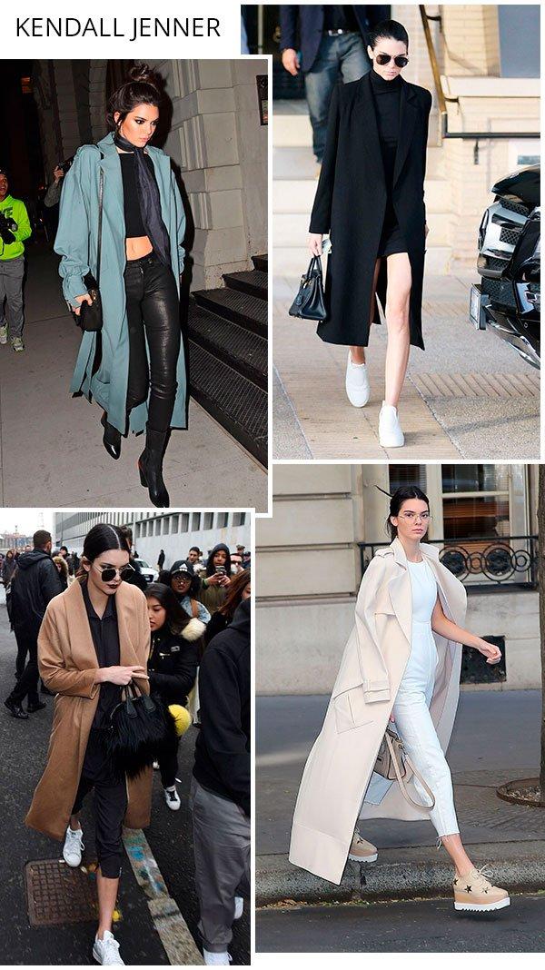 Kendall Jenner - overcoat - trend - como usar - comprar