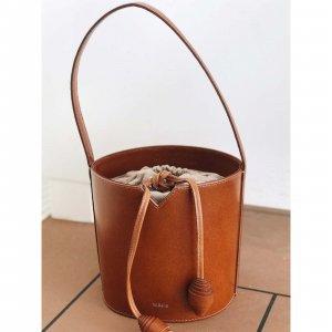 Bolsa Couro Bucket Caramelo Tamanho: U - Cor: Marrom